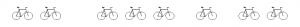 Fahrrad-Reihe